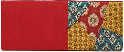 Indian Rain Women Party Red  Clutch