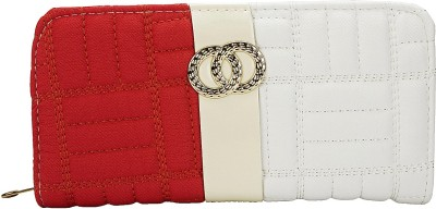 Fashion Knockout Girls, Women Casual Red, White  Clutch