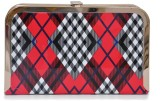 Hopping Street Women Party Red  Clutch