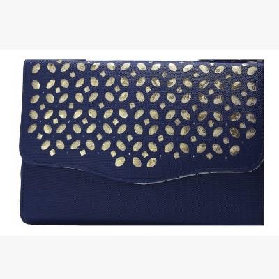 Fashion Knockout Women Casual Blue  Clutch