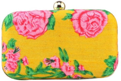 Royal Pitarah Casual Yellow  Clutch