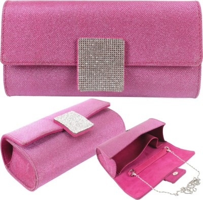 Dooda Party Pink  Clutch