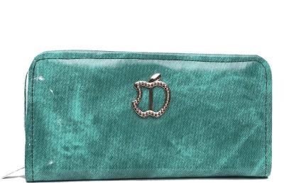 Jolie Casual Green  Clutch