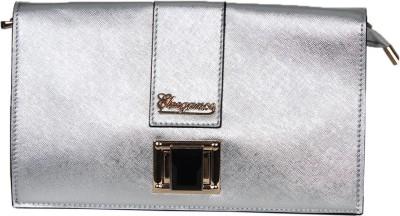 Eleegance Accessories Women Casual Silver  Clutch