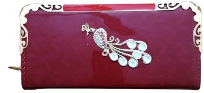 Ud Creation Casual, Party, Wedding Red  Clutch