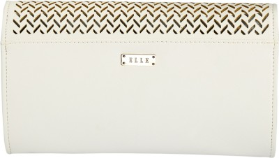 Elle Casual, Party, Wedding White  Clutch