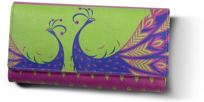 Mad(e) in India Women Casual Green  Clutch