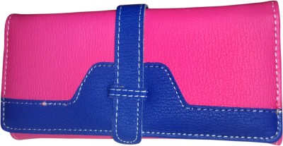 A To Z Creations Women, Girls Casual, Party Blue, Pink  Clutch