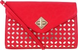 Kalon Women Party, Casual Red  Clutch