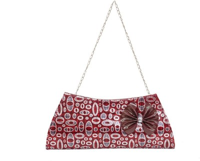 RZ World Casual, Festive, Formal, Party, Wedding Red  Clutch