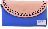 Languo Women Casual Blue  Clutch