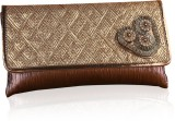 Variation Women Festive Brown  Clutch
