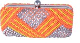 Posh Girls Casual Multicolor  Clutch