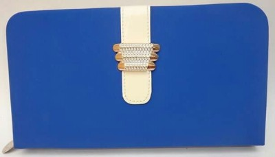 Marutipunch Blue  Clutch