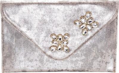 Stylocus Women Casual Silver  Clutch