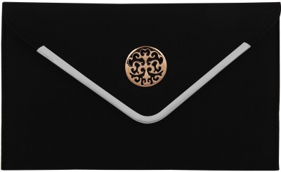 Gihaan Casual, Festive Black  Clutch
