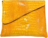 Smera Women Yellow  Clutch