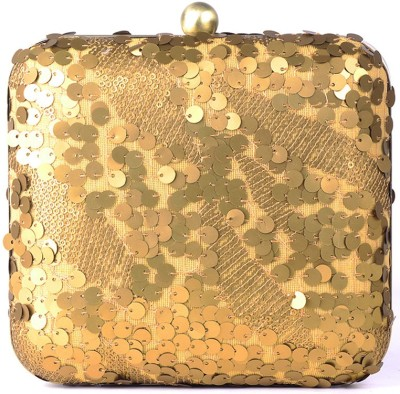 Hoppingstreet Gold  Clutch