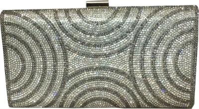 Fashion Rain Party Silver  Clutch