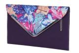 Naaz Bag Collection Women Blue  Clutch