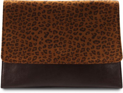 Miss Chase Women Party Brown  Clutch