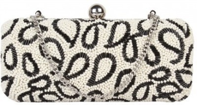 Paint Party White  Clutch