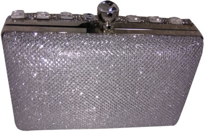 Lasslee Party Silver  Clutch