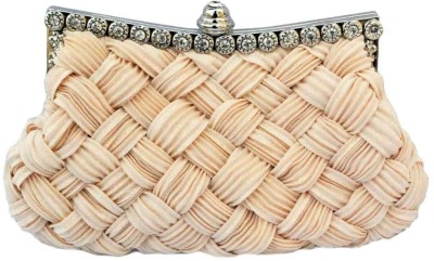 Chicastic Women Wedding Beige Clutch