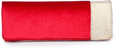 Do Bhai Women Casual Red  Clutch