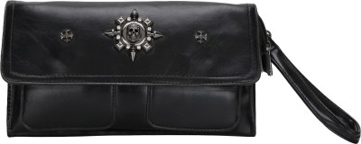 Ambience Casual Black  Clutch
