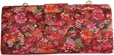 Naitik Products Red  Clutch