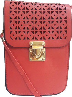 RaviCollections Casual Red  Clutch