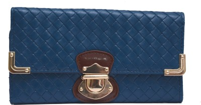 Tanishka Exports Blue  Clutch