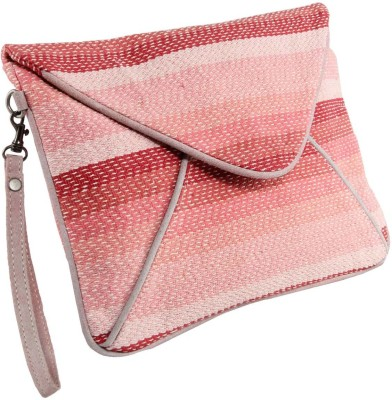 Tomas Casual Pink  Clutch