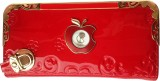 Daisy Doll Women Party Red  Clutch
