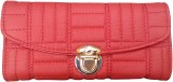 Ud Creation Women Red  Clutch