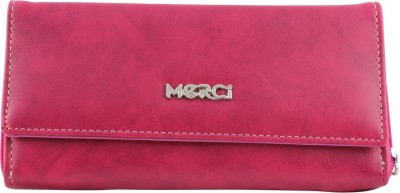 Merci Casual Pink  Clutch