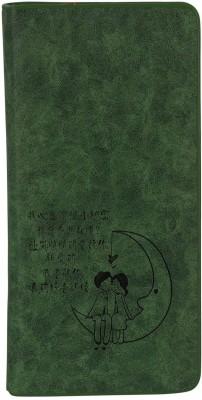 Fine Craft India Casual Green  Clutch