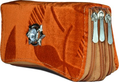 Magiq Women Casual Orange  Clutch