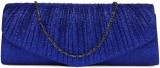 Dressberry Women Blue  Clutch