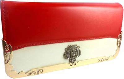 Casanova Fashion Red, White  Clutch