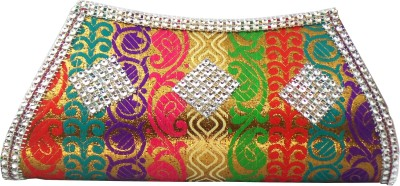 Modish Look Girls, Women Wedding Multicolor  Clutch