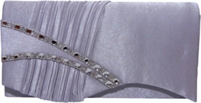 Cherrykart Women Party Silver  Clutch