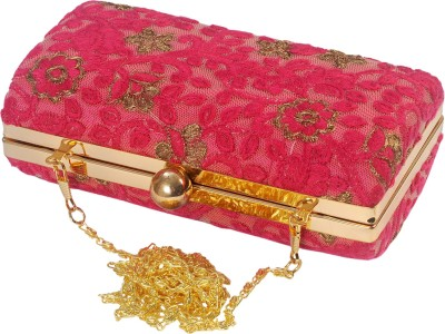 SATVAH Pink  Clutch