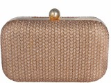 Posh Women Wedding Gold  Clutch