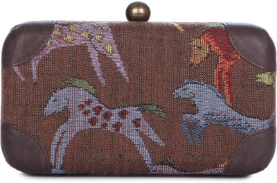 Matchbox Maison Casual Brown  Clutch