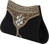 Spice Art Women Festive Black  Clutch