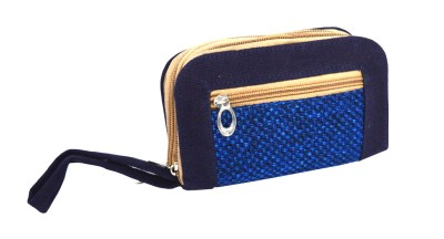 UniqueOriginals4u Casual Blue  Clutch