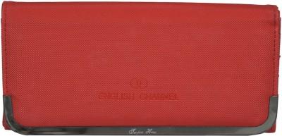 Diamonds World Casual Red  Clutch
