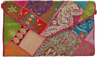 HanumantCreations Wedding, Party, Festive Multicolor  Clutch
